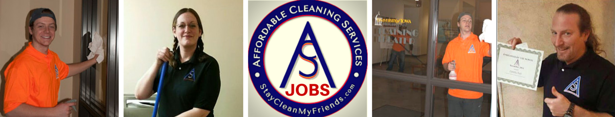 AFFORDABLE CLEANING SERVICES |  JOBS